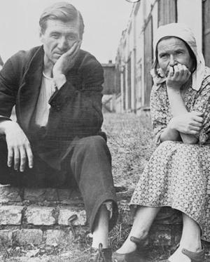 Réfugiés allemands de Prusse orientale (1920)