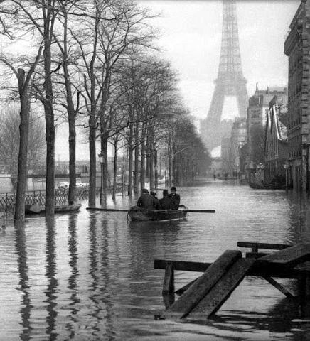 Inondation à Paris en janvier 1910