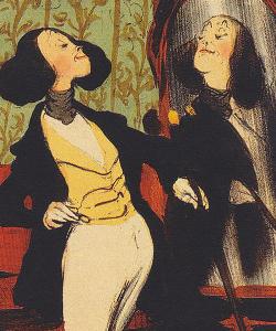 Dandy (par Daumier)