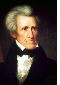 Andrew Jackson, président de 1829 à 1837
