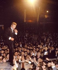 Johnny Hallyday à la folle nuit de la Nation, 22 juin 1963