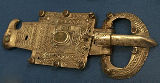 Boucle de ceinture retrouvée à Atil, capitale des Khazars