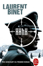 HHhH (Himmlers Hirn heisst Heydrich (Le cerveau d'Himmler s'appelle Heydrich)) (Laurent Binet)