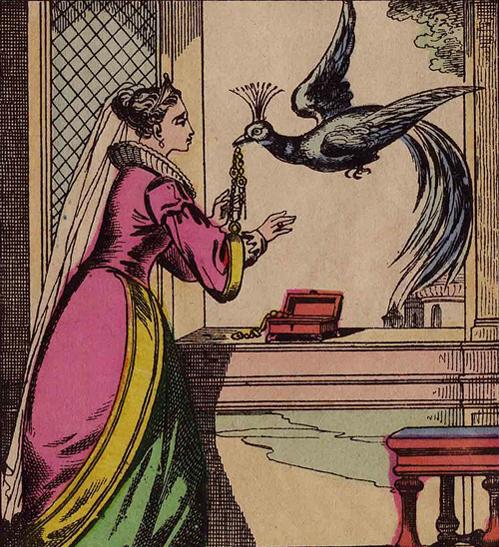 L'Oiseau bleu, Madame d'Aulnoy, XIXe siècle.