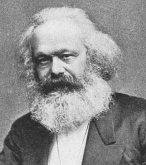 Karl Marx (Trèves, 5 mai 1818 - Londres, 14 mars 1883)