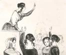 Club de femmes en 1848