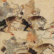 Mongols au combat