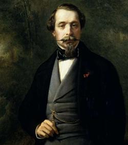Napoléon III par Winterhalter (1865)