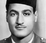 Gamal Abdel Nasser jeune (15 janvier 1918 - 28 septembre 1970)