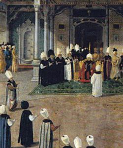 Selim III et sa cour