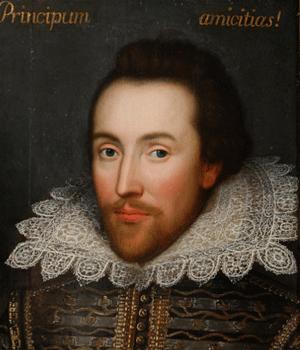 Shalespeare (portrait dit de Cobbe, vers 1610)