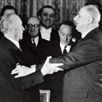 Adenauer et de Gaulle