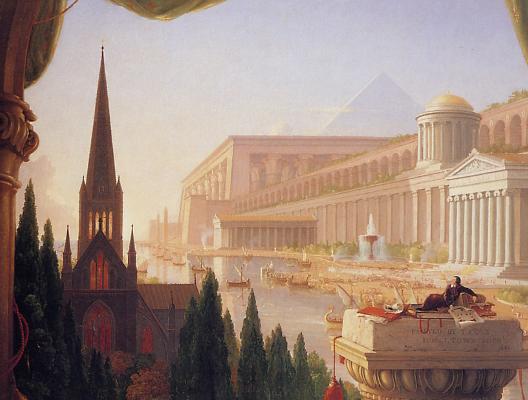 Le r�ve de l'architecte (Thomas Cole)