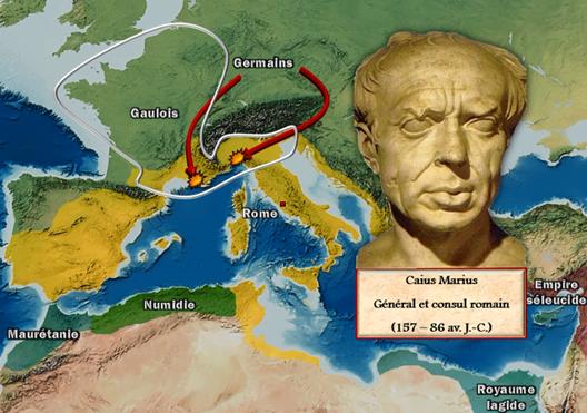 Consulter à titre d'exemple: Rome de la République à l'Empire (droits réservés: Vincent Boqueho, pour Herodote.net)