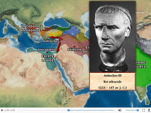 Les royaumes hellénistiques hérités d'Alexandre le Grand