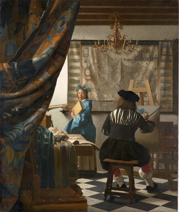 L'Art de la Peinture, Johannes Vermeer, 1666